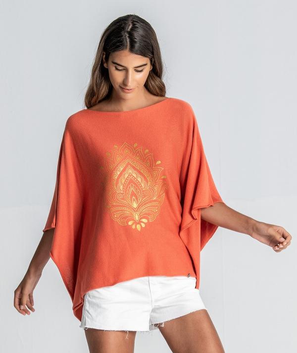 Sweatshirt with...
