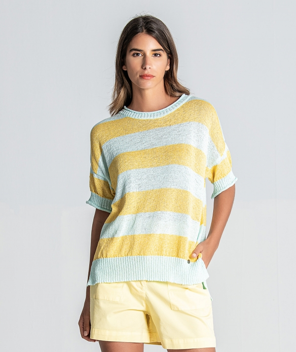 Bright striped...