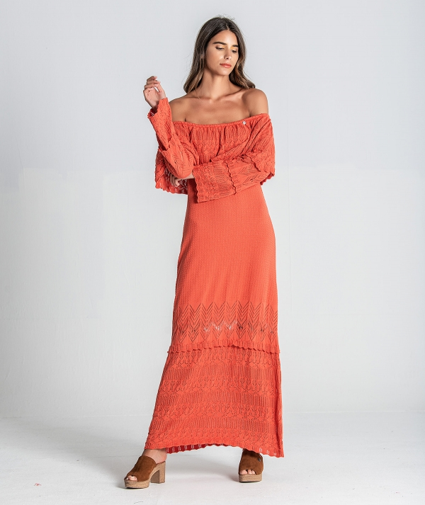 Long dress...