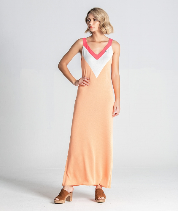 Dress with neon...