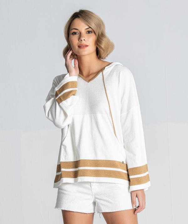 Hooded sweatshirt...