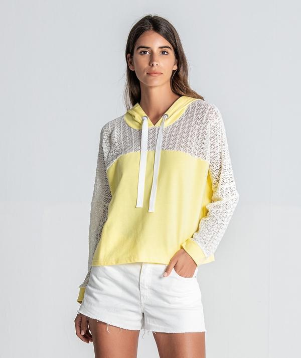 Sweater com detalhe