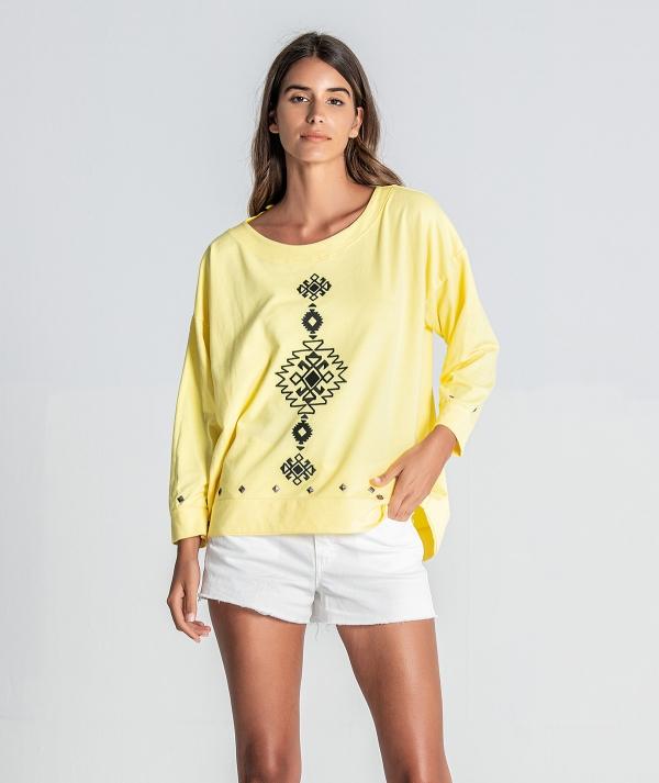 Sweater étnica