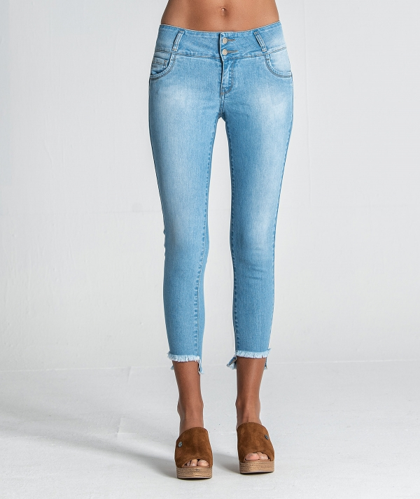 Jeans assimétricos