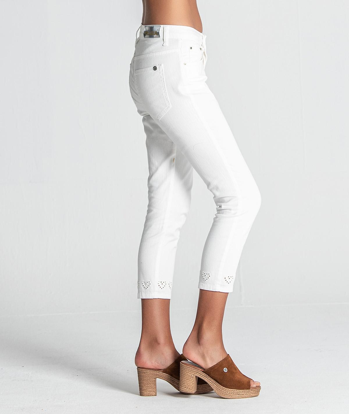 Jeans corações