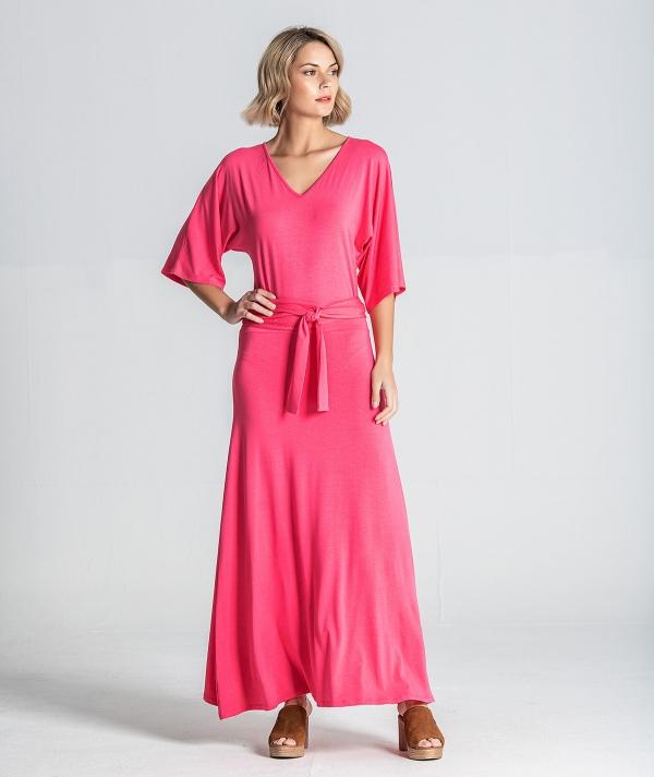 Long crossed dress