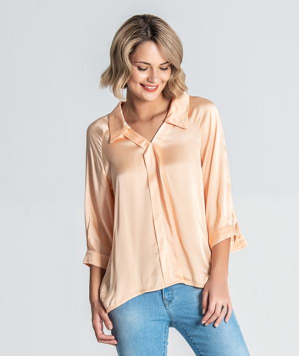 Blusa gola camisa