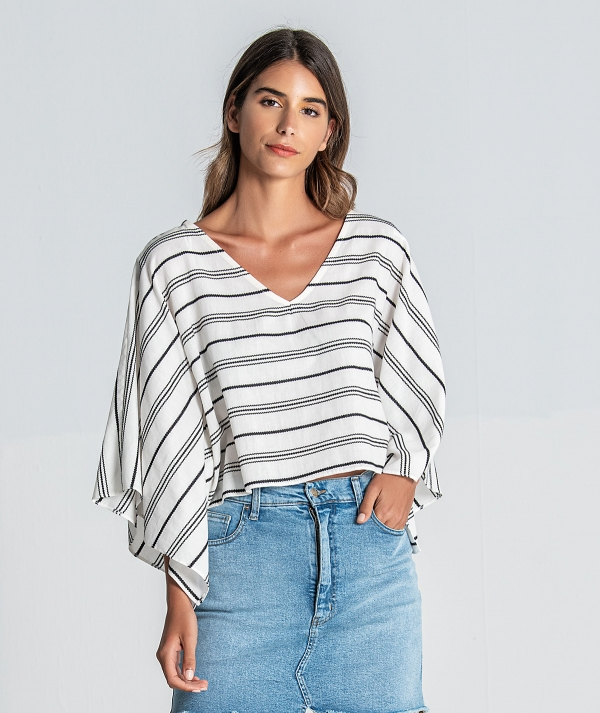 Blouse striped