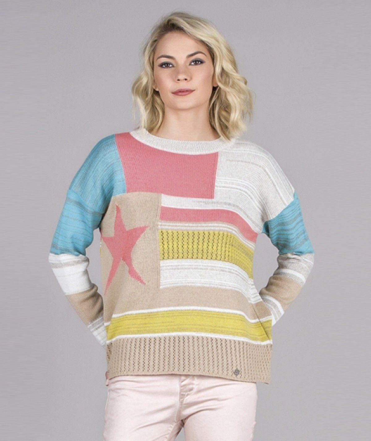 Camisola  patchwork