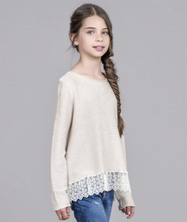 Lace sweater KIDS