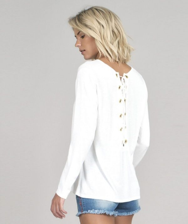 Sweater with back...