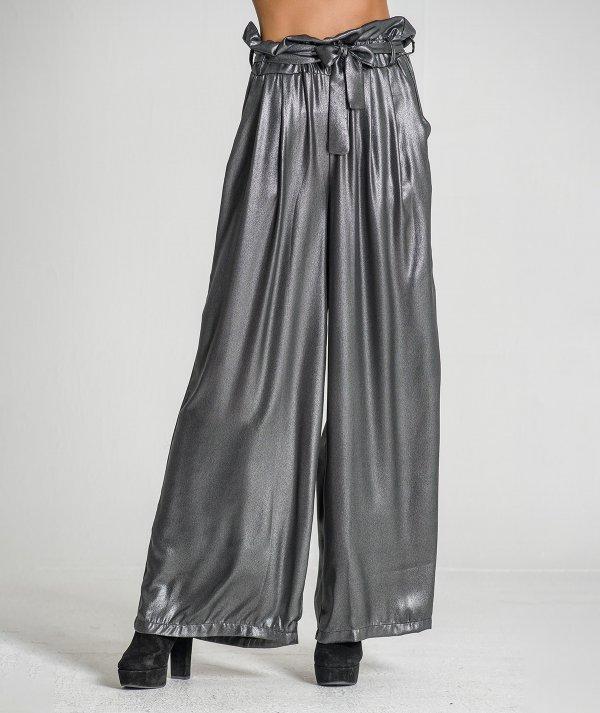 Shiny trousers