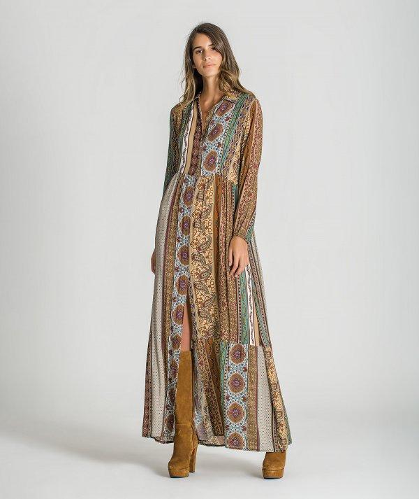 Vestido padrão...