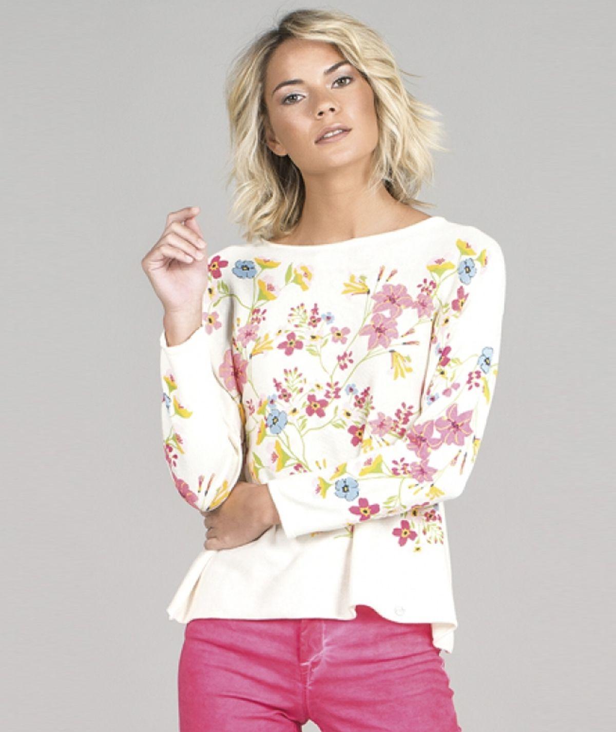 Camisola motivo floral