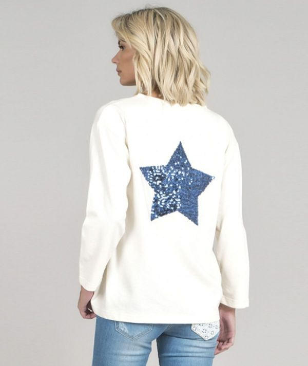 Sweater with star