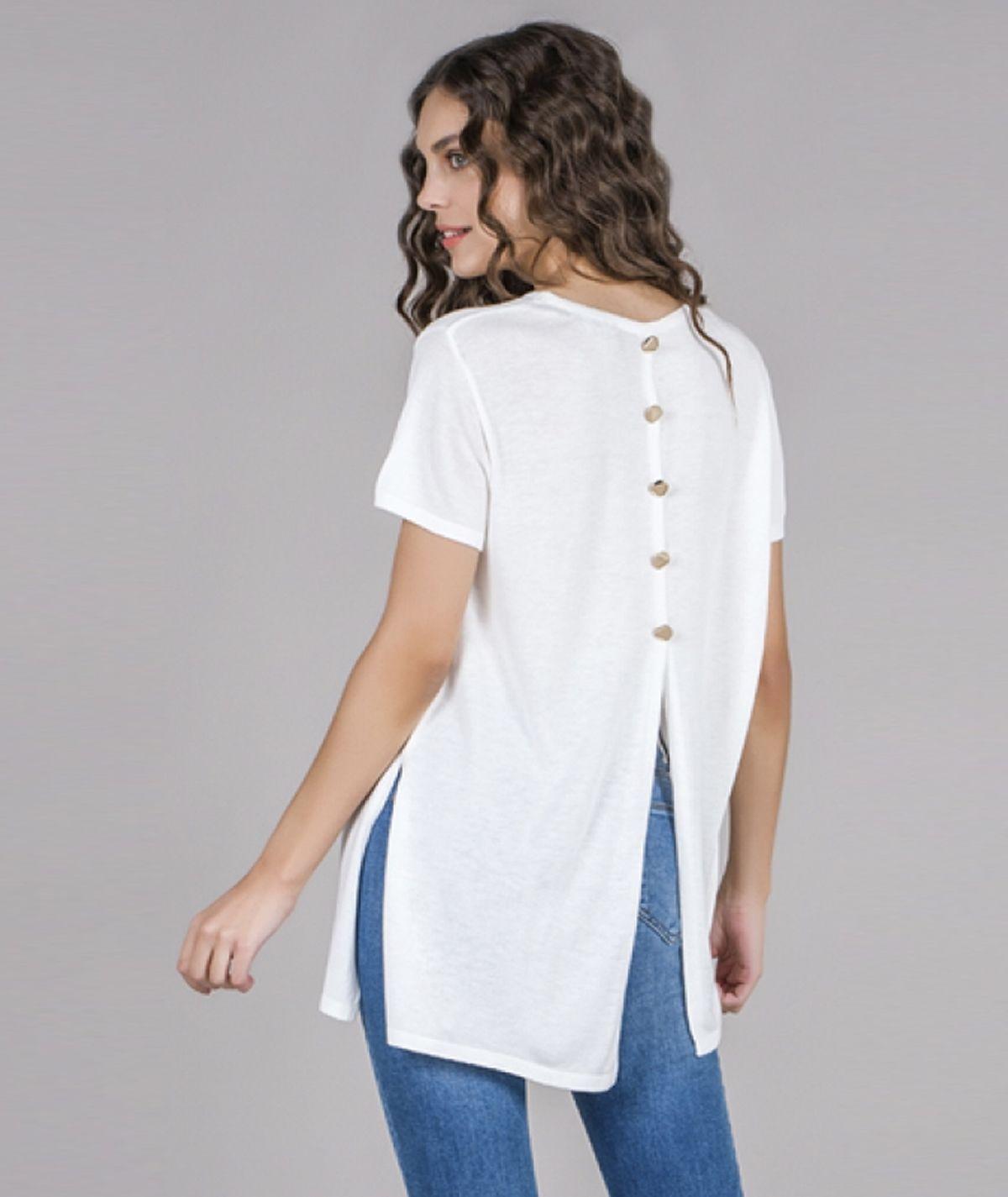 [CHIESSY] Camisola botões