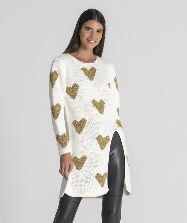Tunic with  heart...