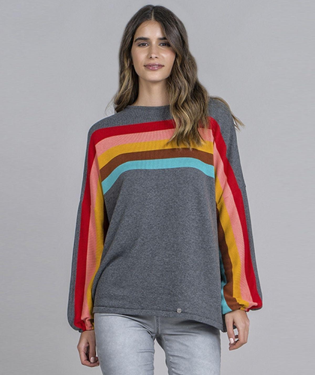 Camisola arco-íris