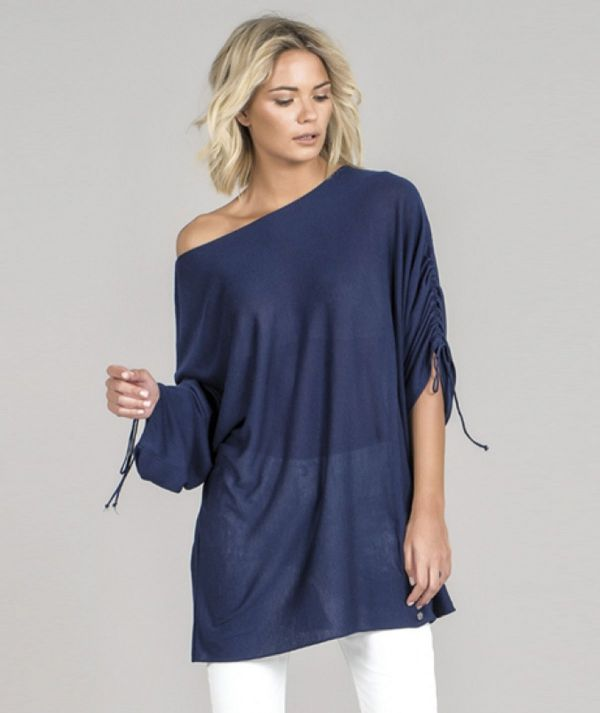 Tunic with cord...