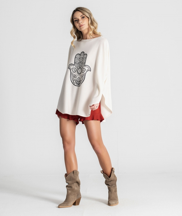 Sweater with...
