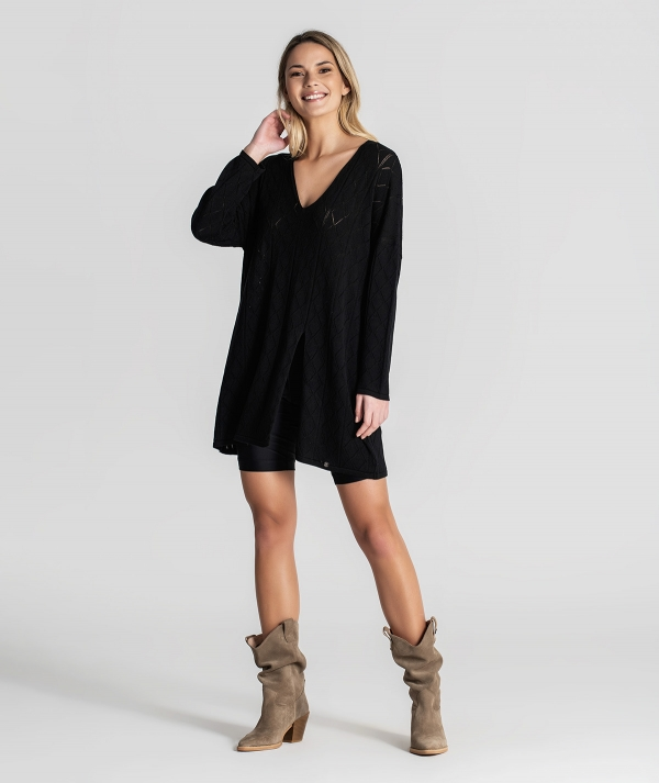 Tunic with front...