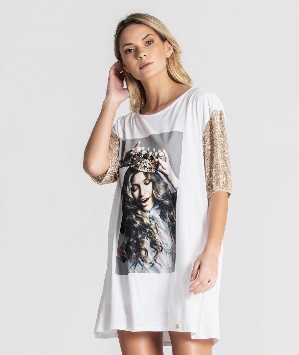 Printed t-shirt...