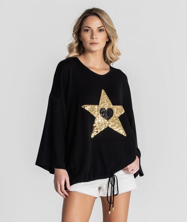 Star motif...