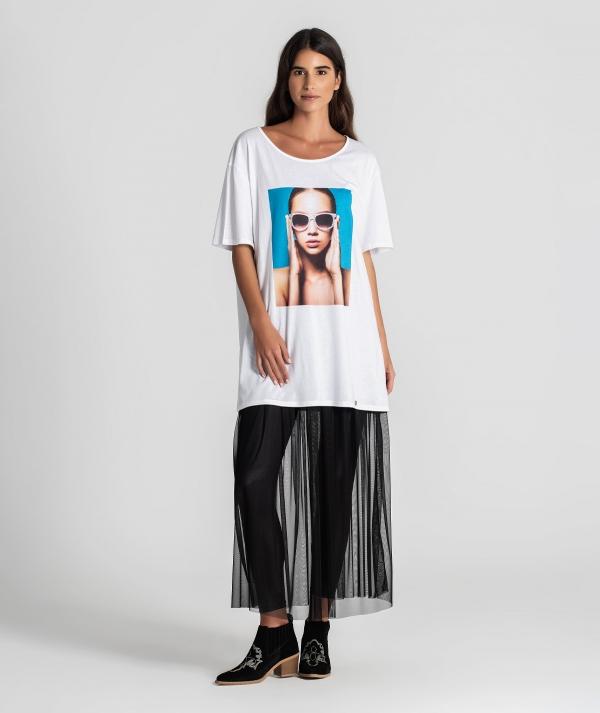 T-shirt motivo...