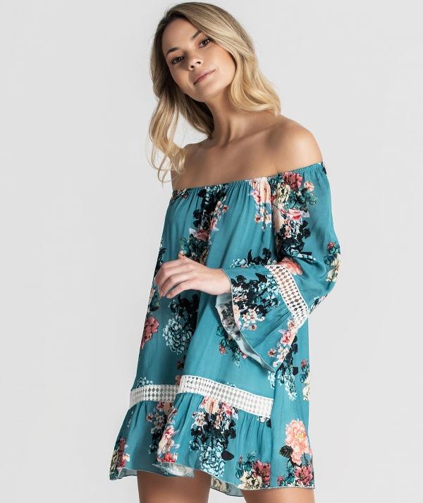 Blusa padrão floral