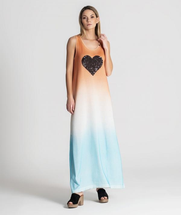 Vestido com coração