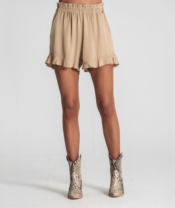 Ruffled shorts