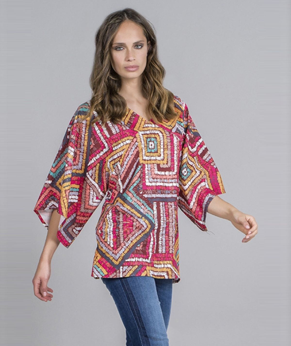 Blusa estampado tribal