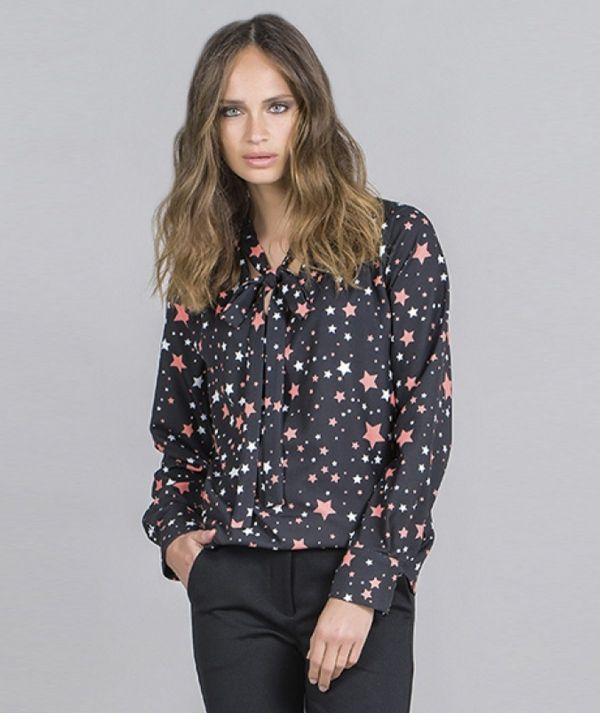 Star motif shirt